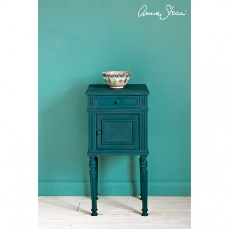 Aubusson Blue Chalk Paint kredna barva Annie Sloan Farbarela