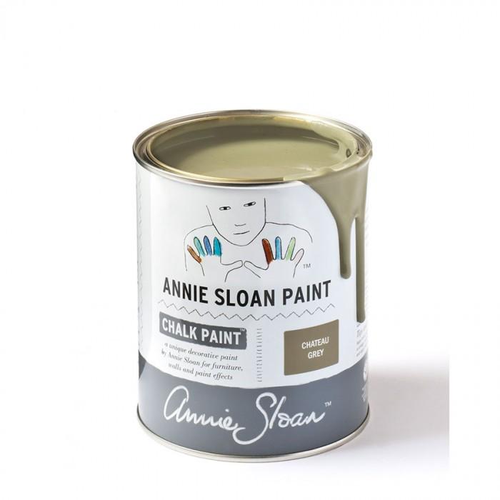 Chateau Grey Chalk Paint kredna barva Annie Sloan Farbarela