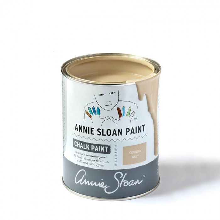 Country Grey Chalk Paint kredna barva Annie Sloan Farbarela