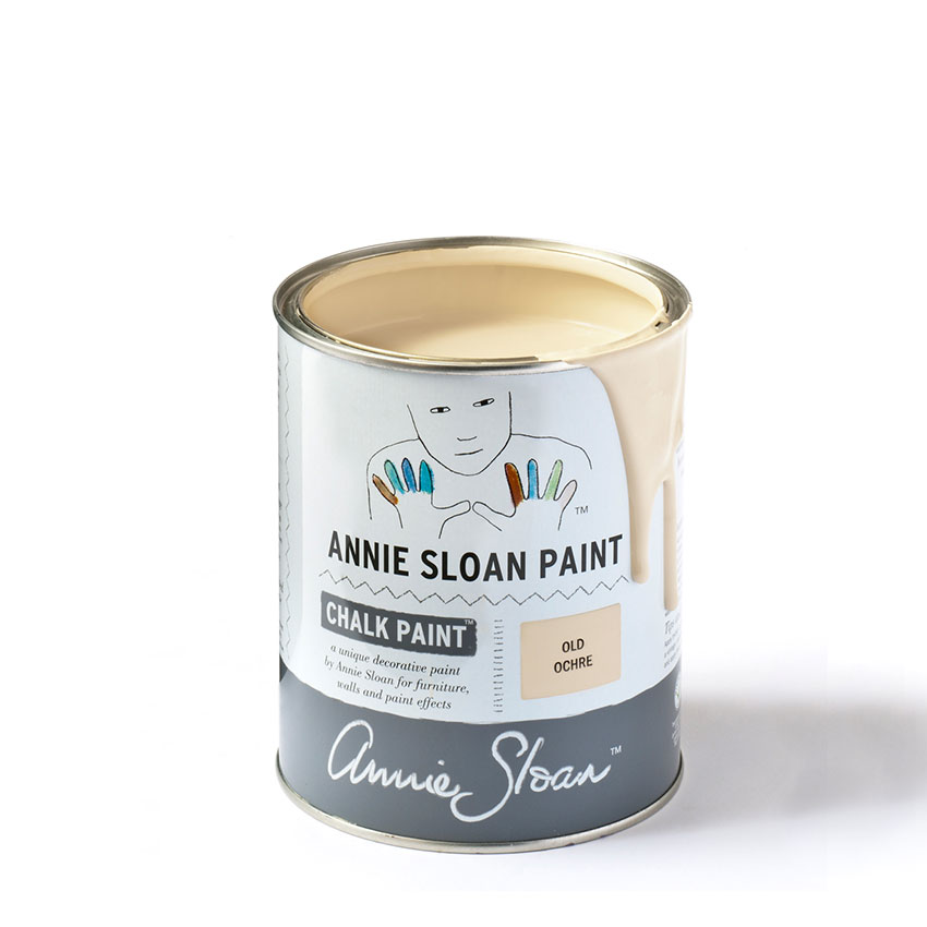 Old Ochre Chalk Paint kredna barva Annie Sloan Farbarela