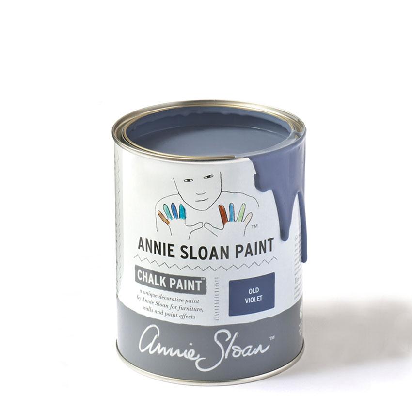 Old Violet Chalk Paint kredna barva Annie Sloan Farbarela