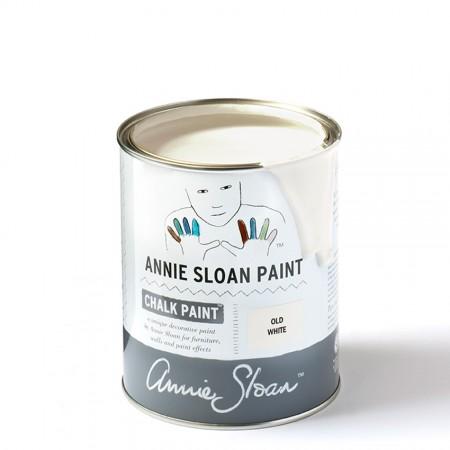 Old White Chalk Paint dekorativna kredna barva Annie Sloan | Farbarela