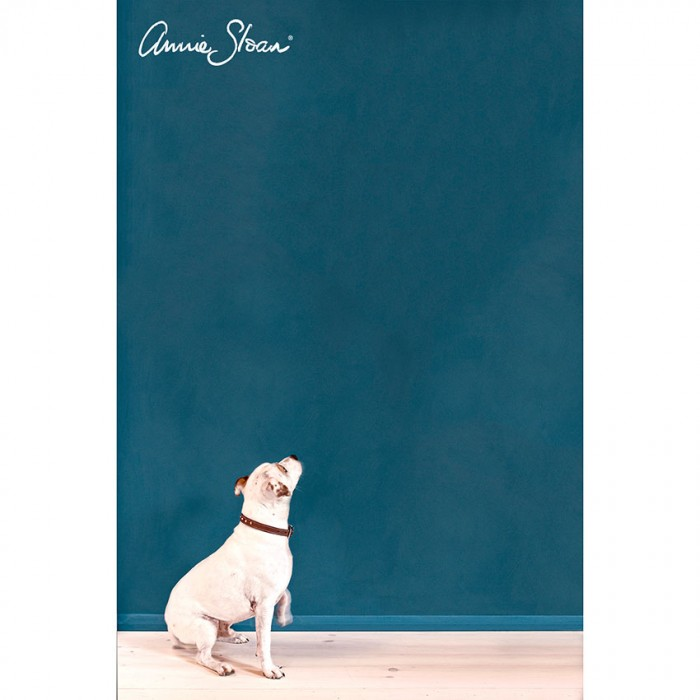 zidna barva Aubusson Blue -Wall-Paint-by-Annie-Sloan