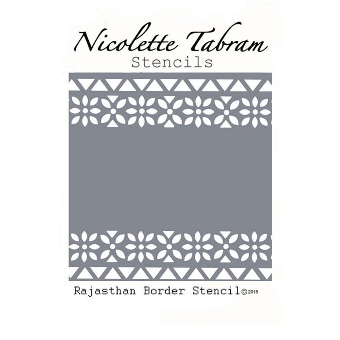 Šablona bordura Rajahstan