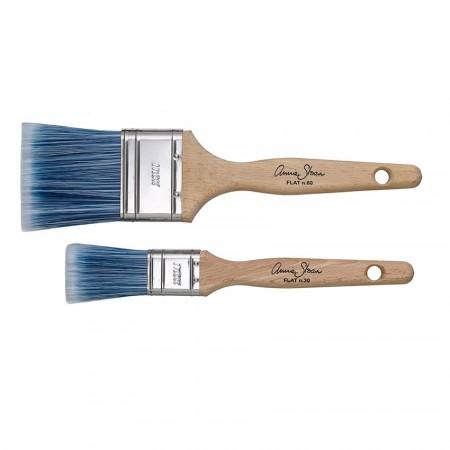 ravni čopič Annie Sloan flat Brushes
