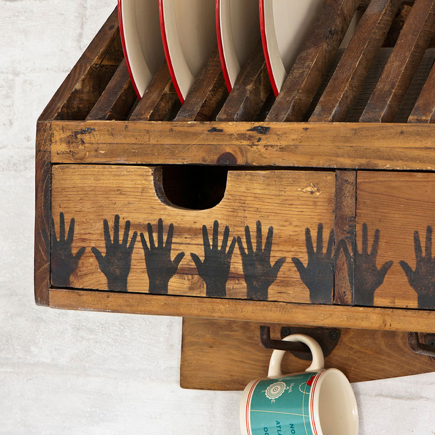 šablona Hands Annie-Sloan-Stencil