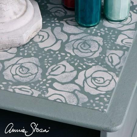 Šablona Roses Annie Sloan Stencil