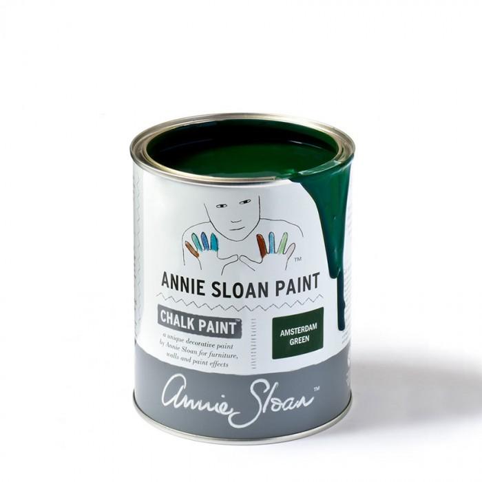 Amsterdam Green Chalk Paint kredna barva Annie Sloan Farbarela