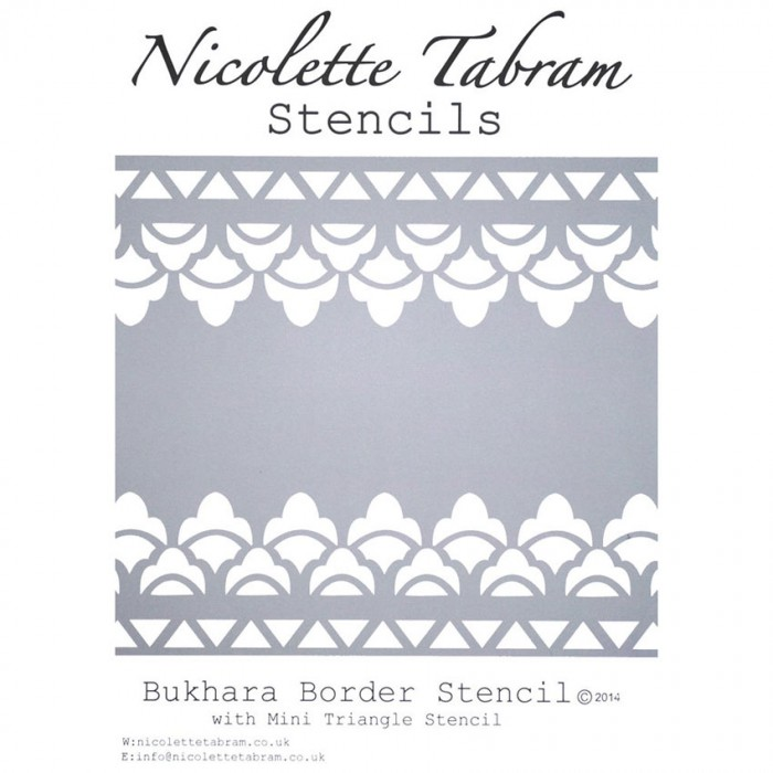 Šablona Bukhara Nicolette Tabram Stencil