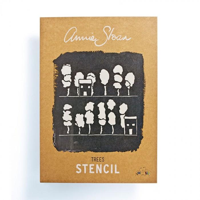 šablona Trees Annie-Sloan-Stencil