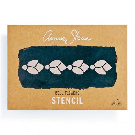 šablona Bell Flowers Annie-Sloan-Stencil