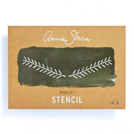 šablona Branches Annie-Sloan-Stencil