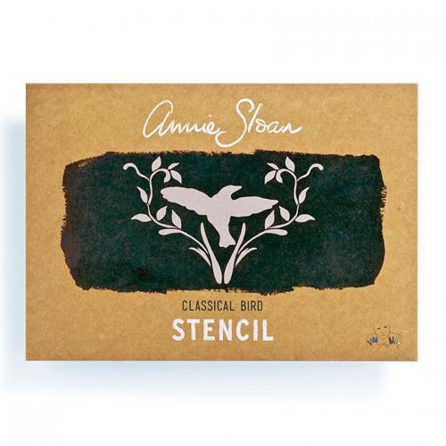 Šablona Classical Bird Annie Sloan Stencil