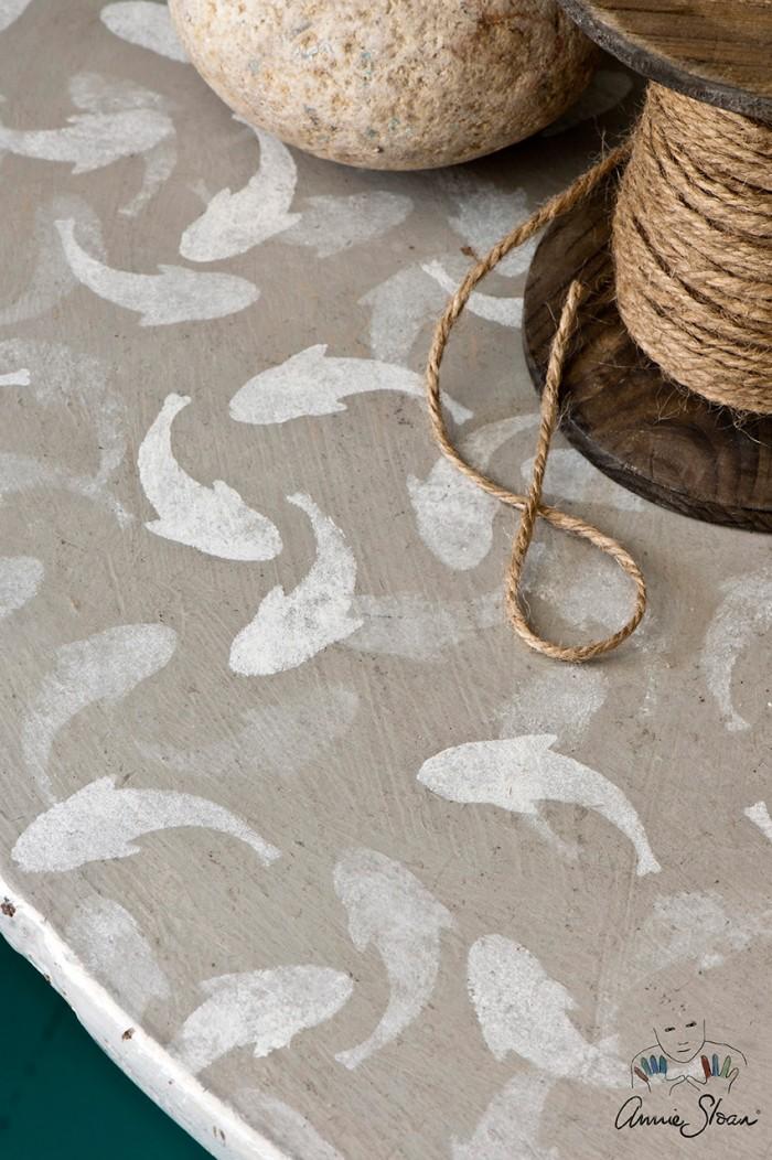 Šablona Fish Annie Sloan Stencil