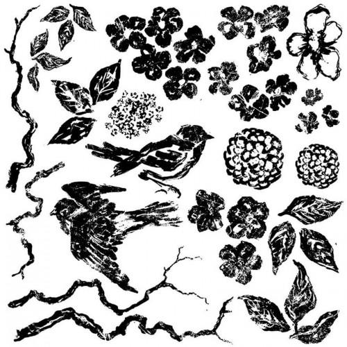 stampiljka-IOD-stampBirdsBranchesBlossoms