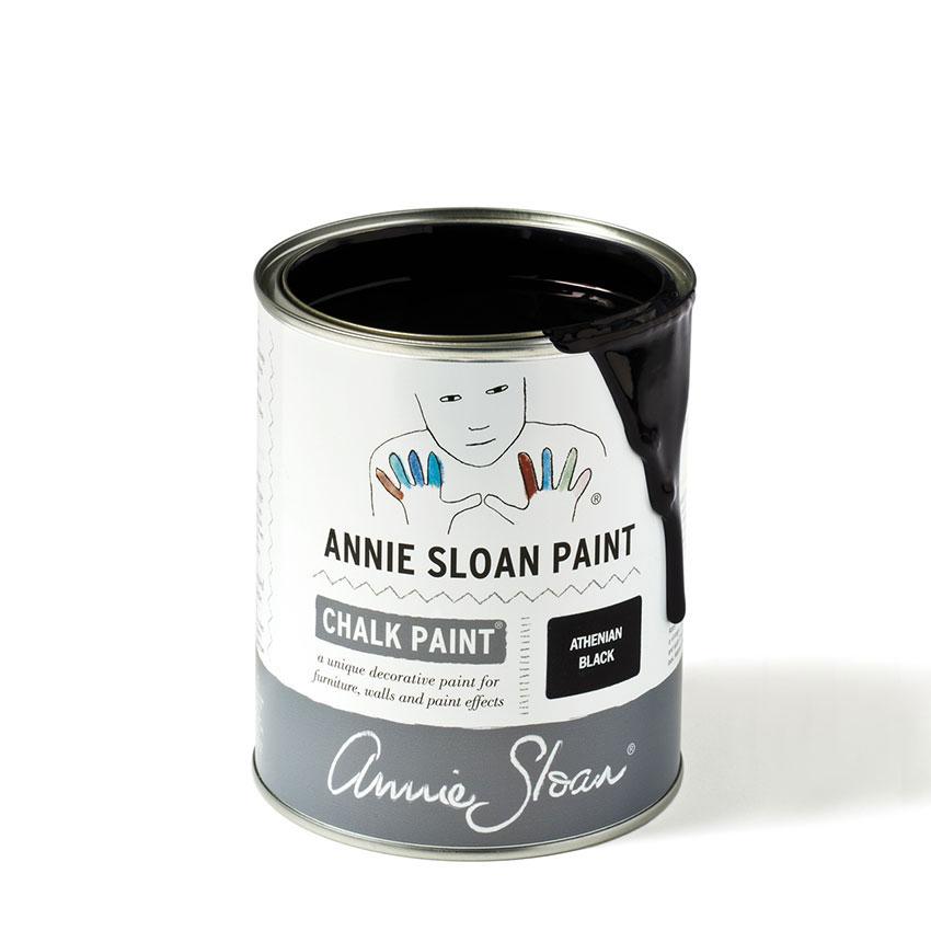 Athenian-Black-Chalk-Paint-kredna-barva-Annie-Sloan-Farbarela