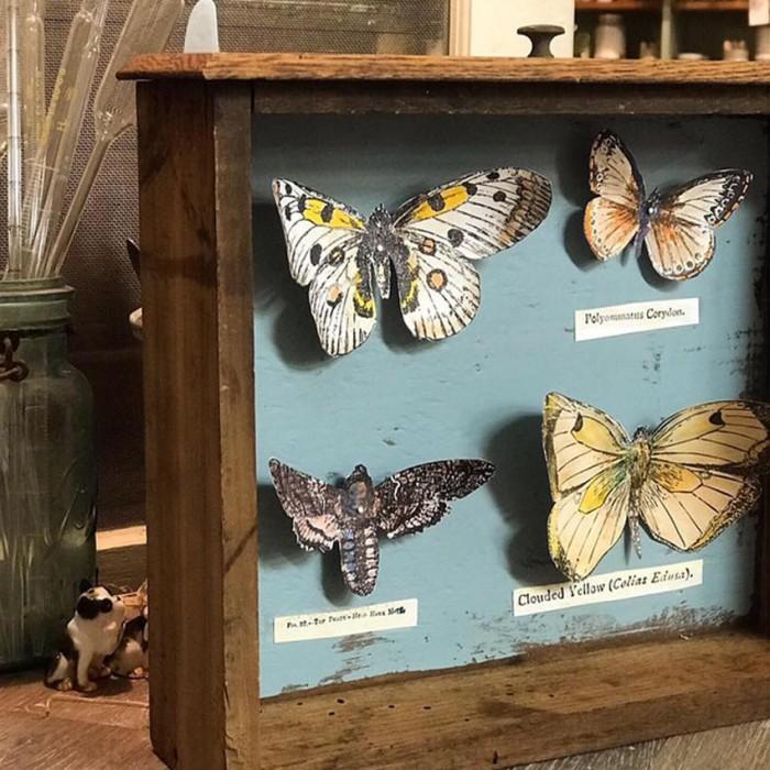 Set štampiljk Butterflies