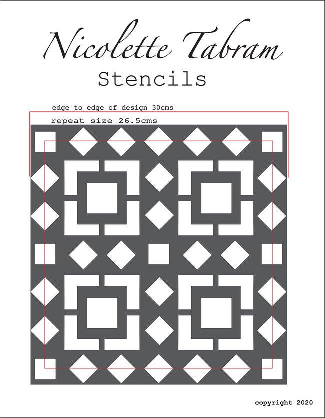 Velika šablona Kasbah Nicolette Tabram
