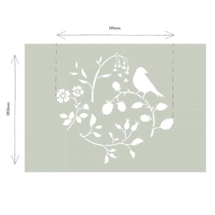 Countryside-Bird-Stencil-Sablona-Farbarela
