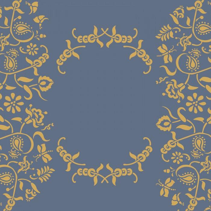 Paisley-Floral-Garland-Sablona-Farbarela