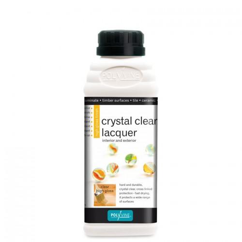 Lak Crystal Clear Lacquer Polyvine, Farbarela