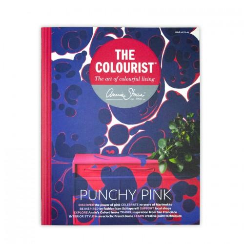 The Colourist 6 bookazine Annie Sloan revija Farbarela